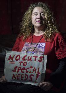 2018: Hackney SEND parents' protest